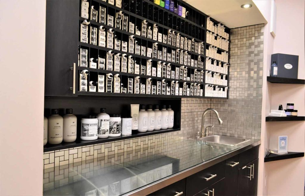 Beauty Products at Fortelli Salon & Spa